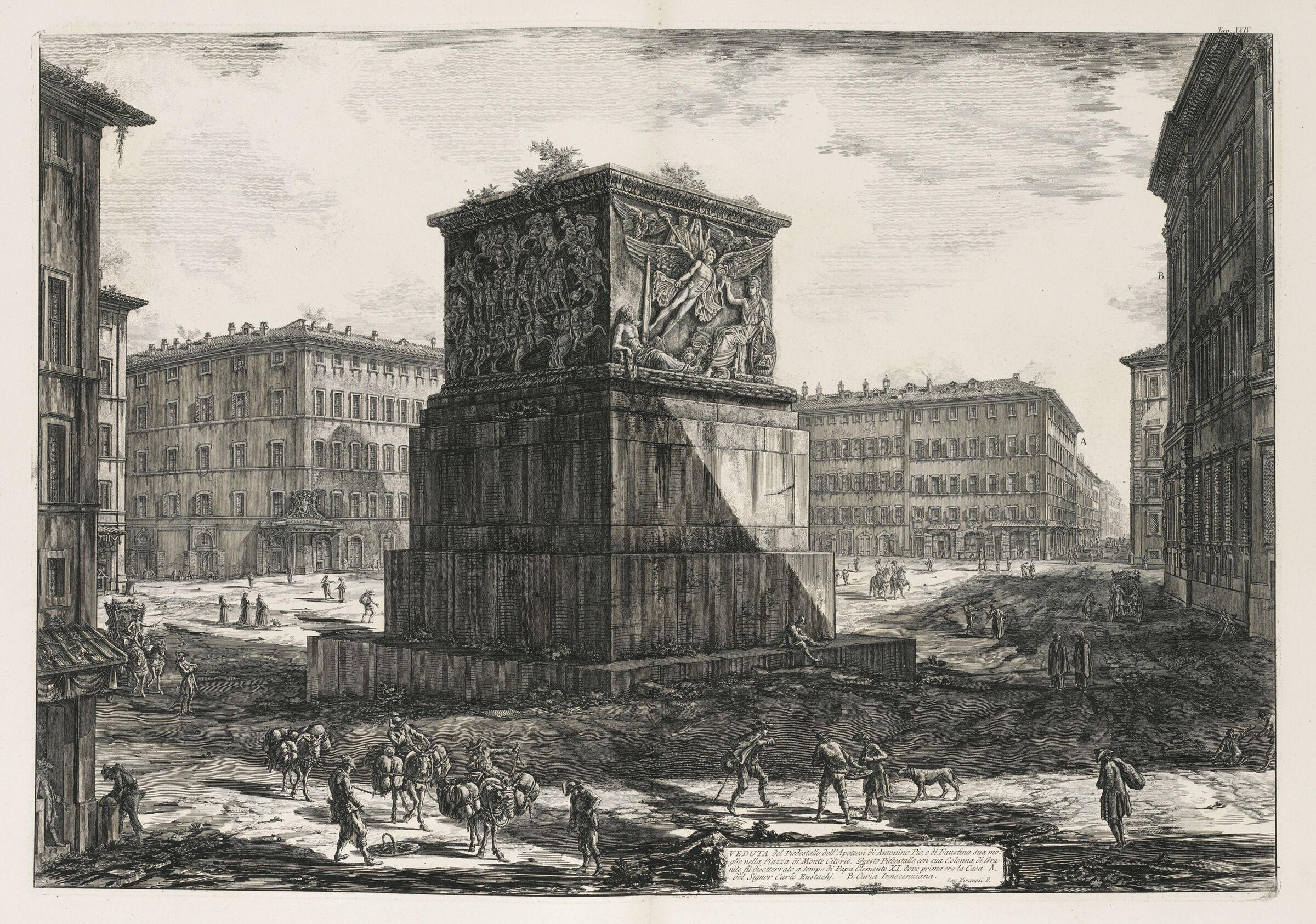 Pedestal Of The Column Of Antoninus Pius