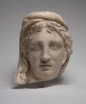 Head of an Eastern Woman (