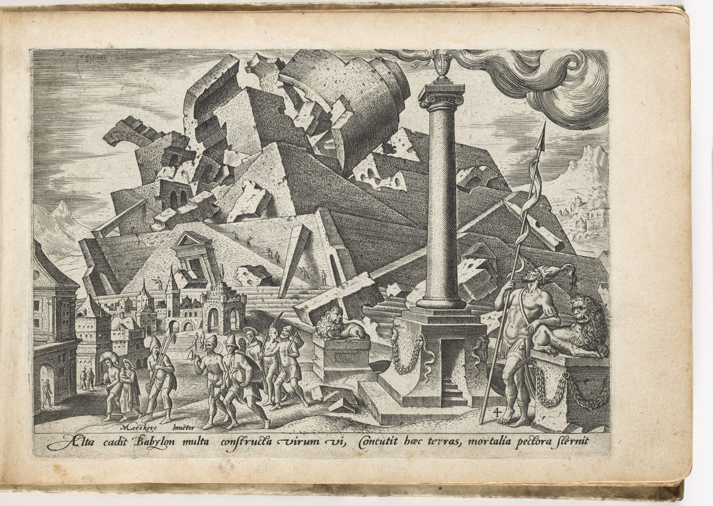 The Destruction Of The Tower Of Babel And The Dispersion Of Peoples