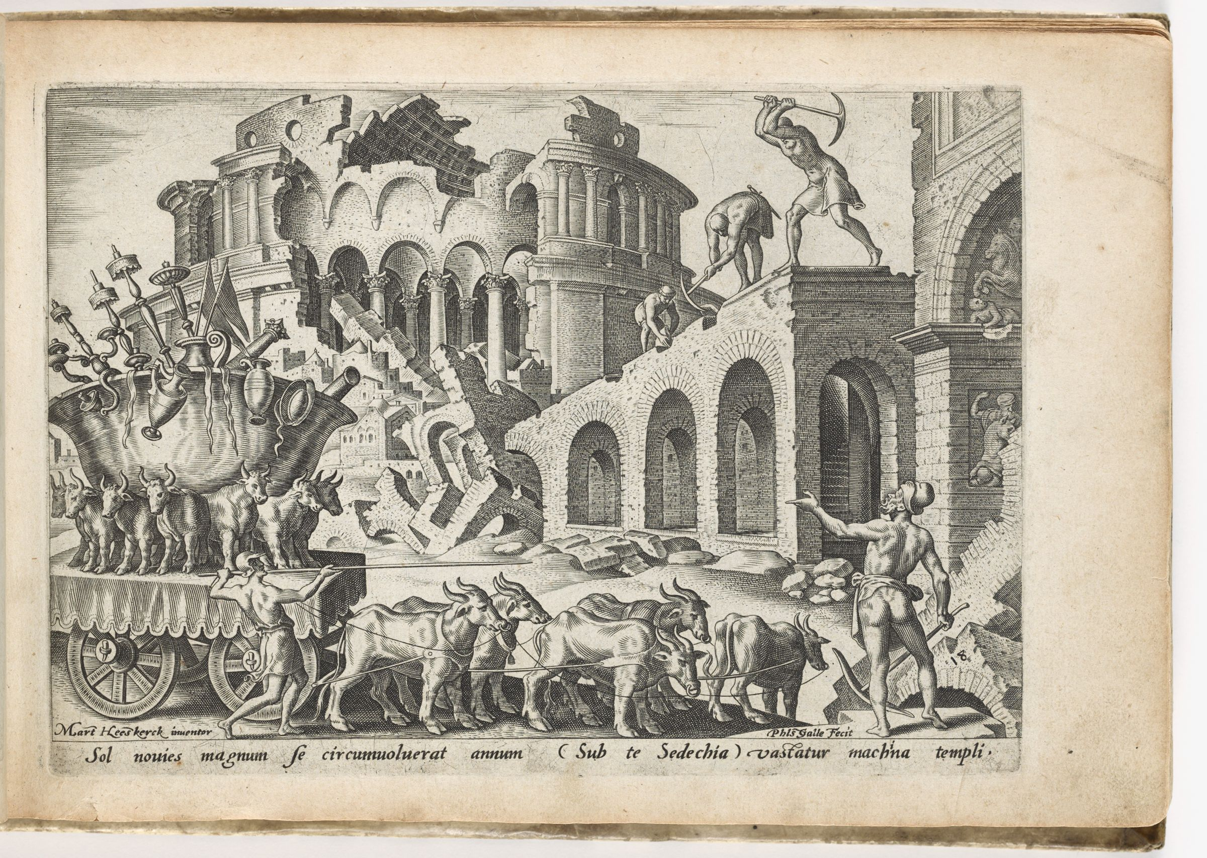 The Chaldeans Carrying Away The Temple Treasures