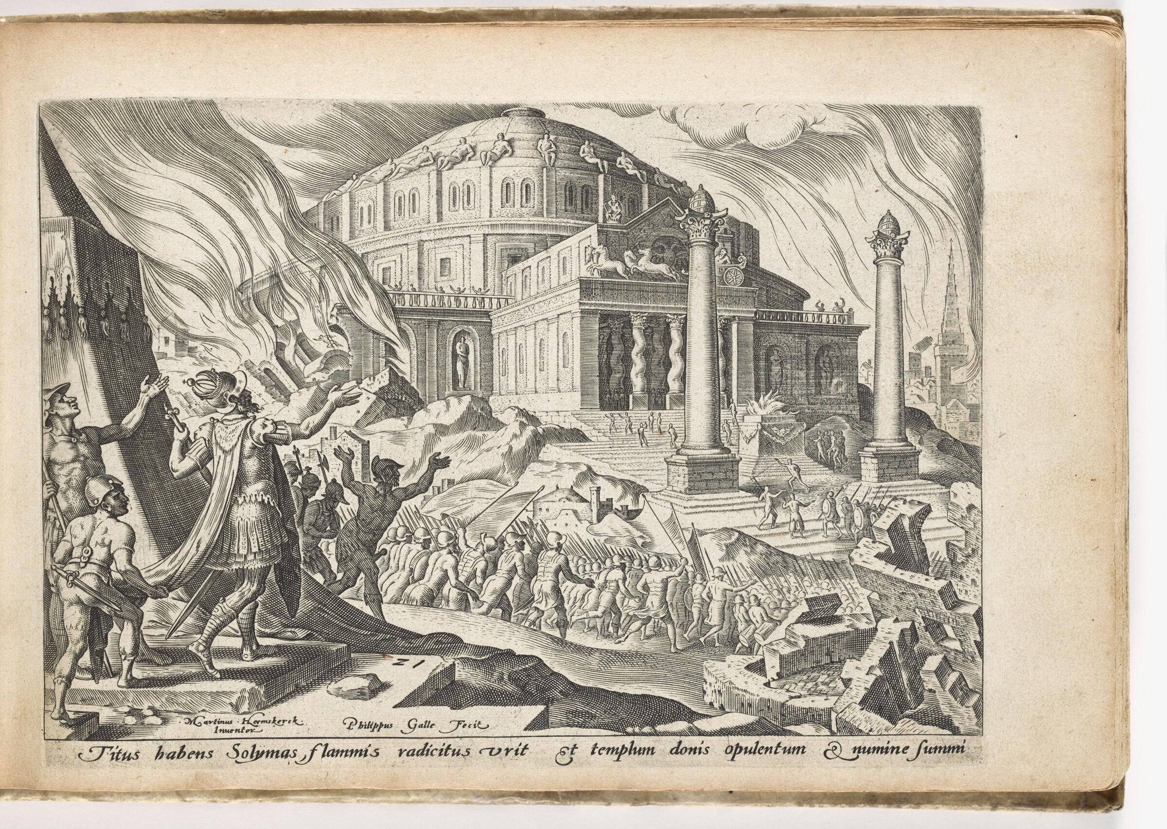 The Destruction Of Jerusalem By Emperor Titus
