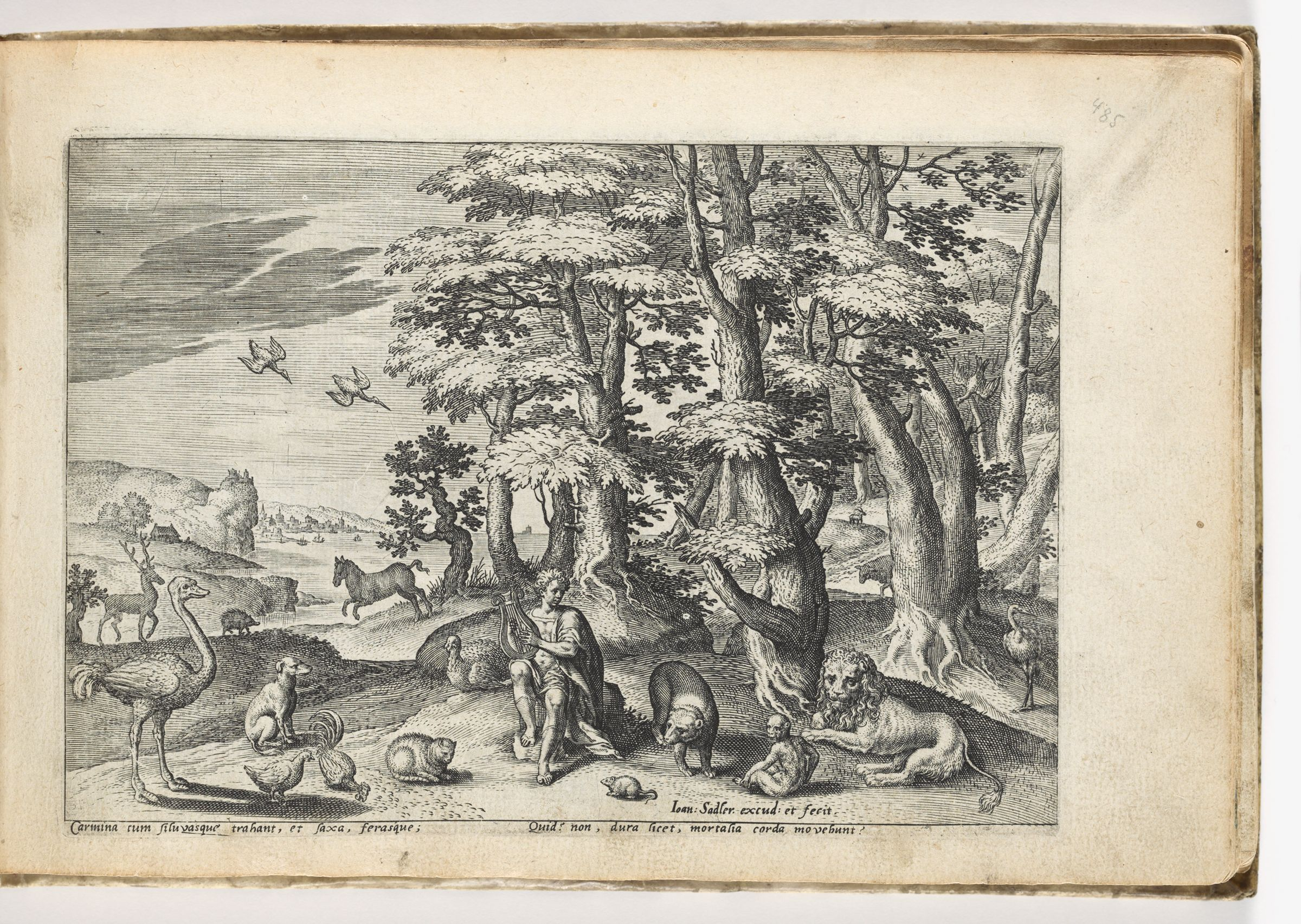Orpheus Playing To The Beasts