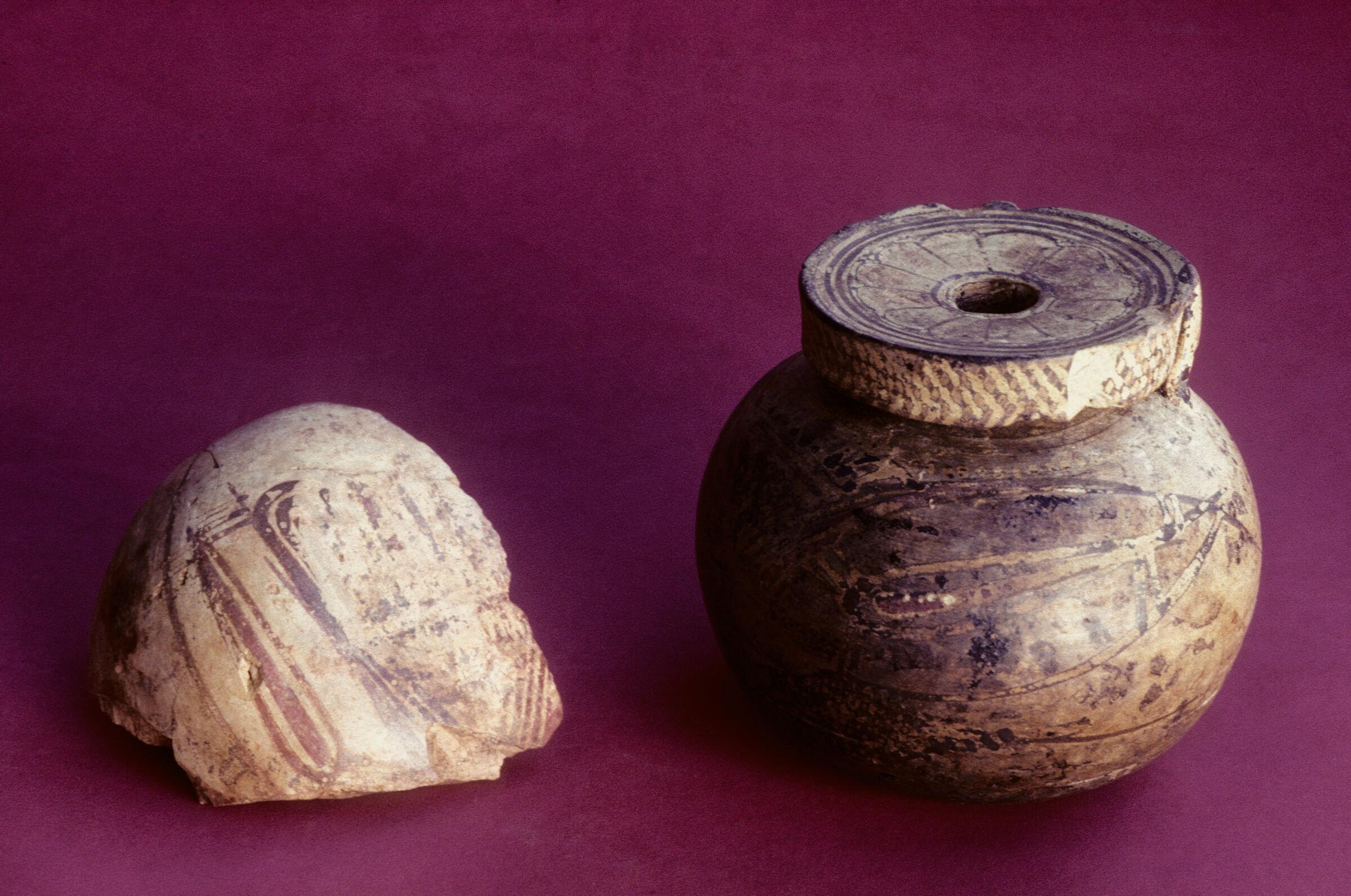 Middle Corinthian Round Aryballos