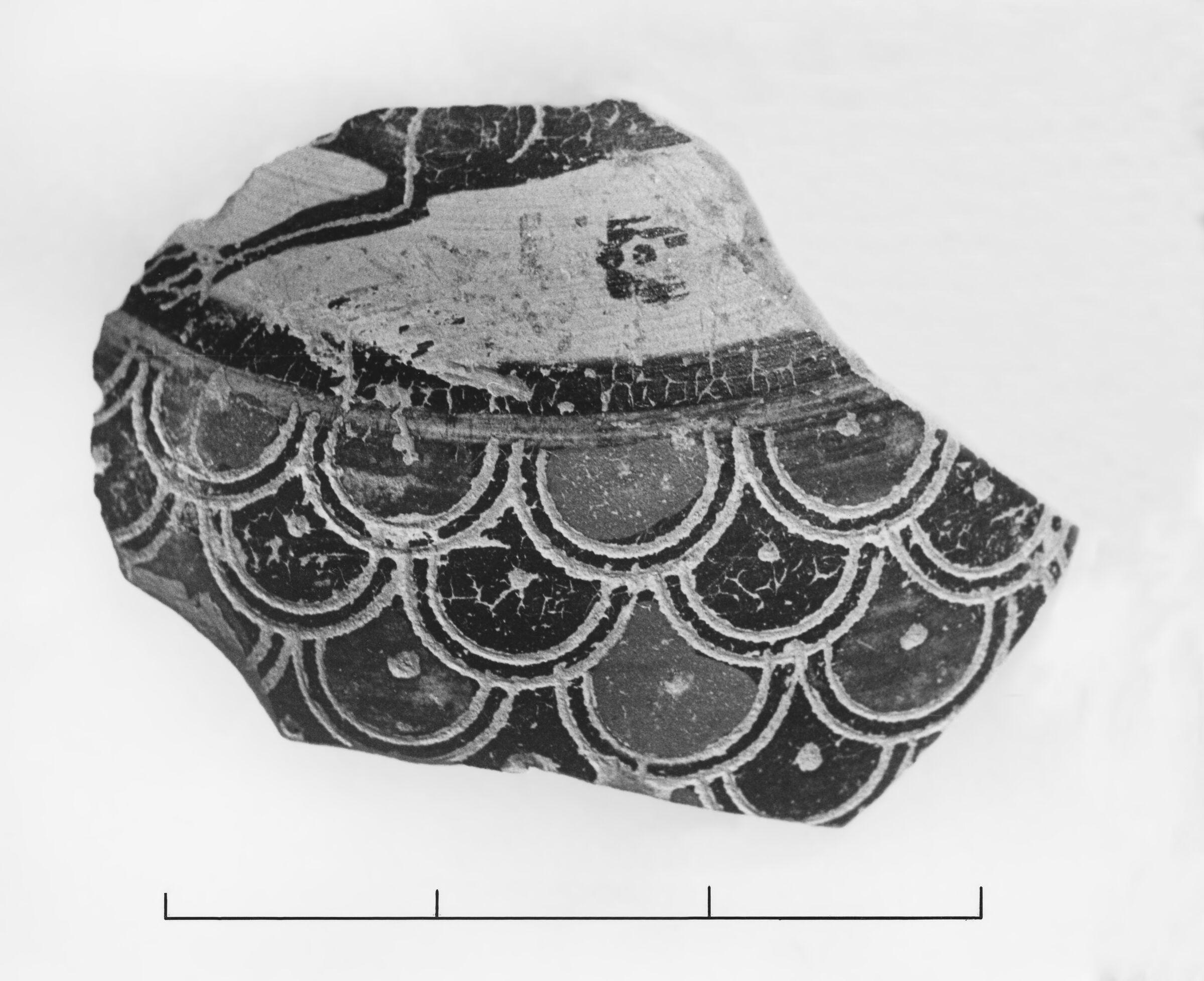 Late Protocorinthian Aryballos Fragment