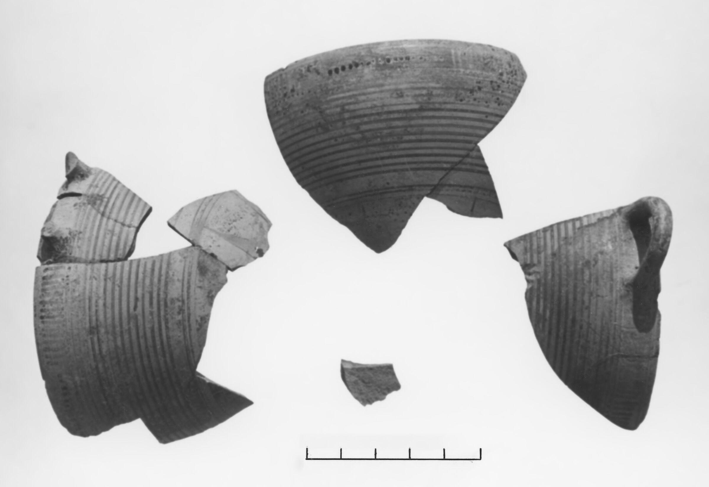 Corinthian Transitional Linear Kotyle Fragments