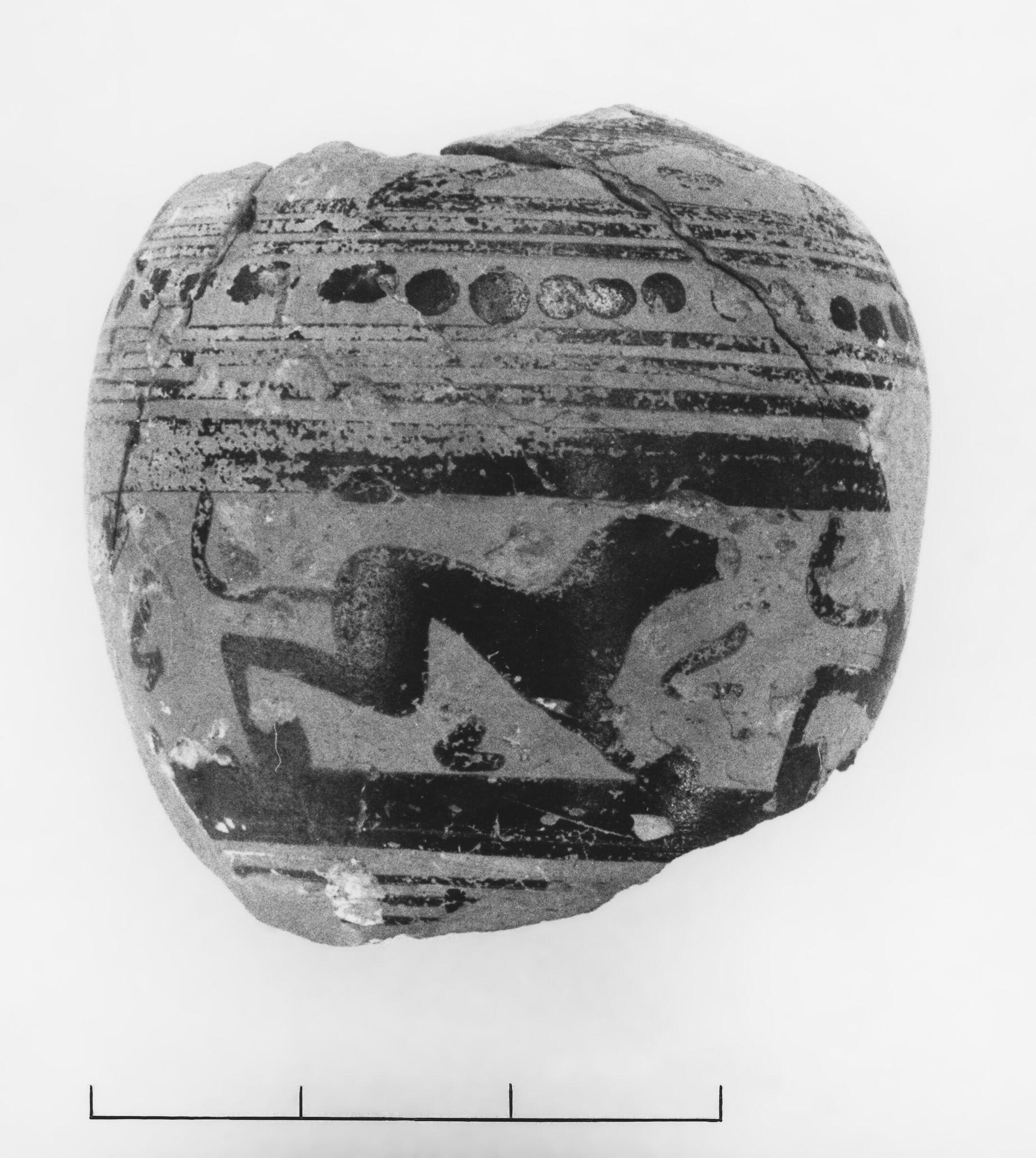 Middle Protocorinthian Ovoid Aryballos Fragment