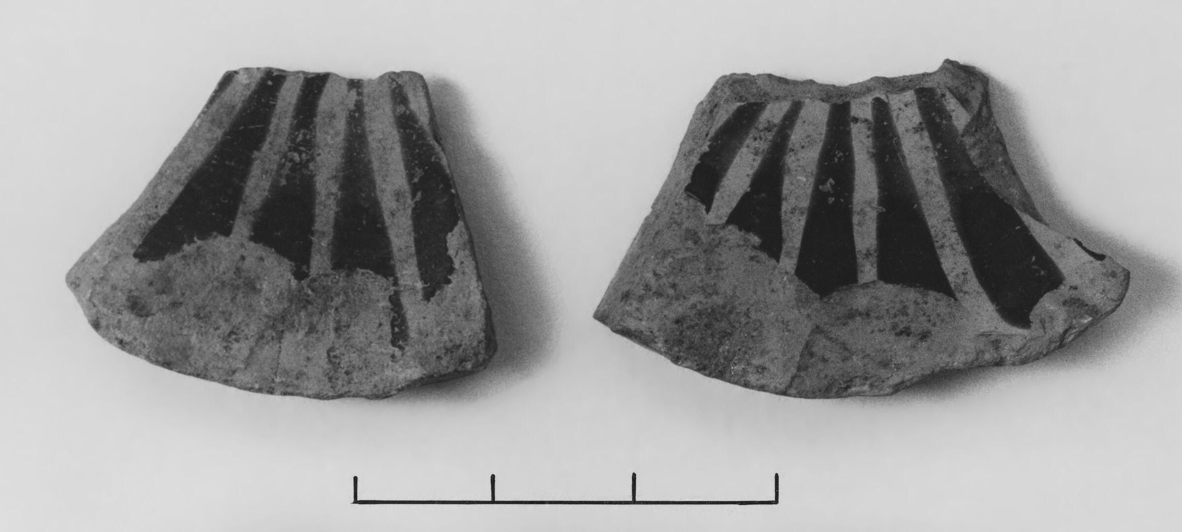 Middle Corinthian Aryballos(?) Fragments