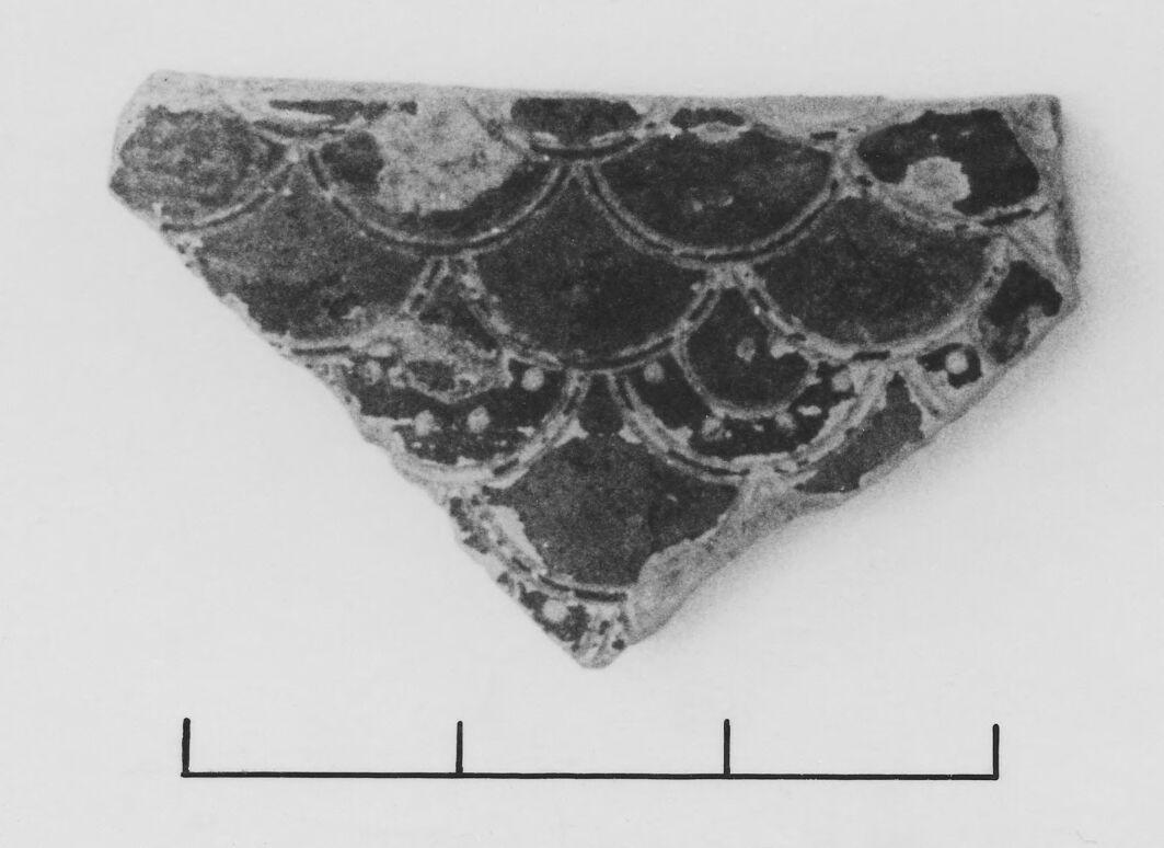 Late Protocorinthian Alabastron Fragment
