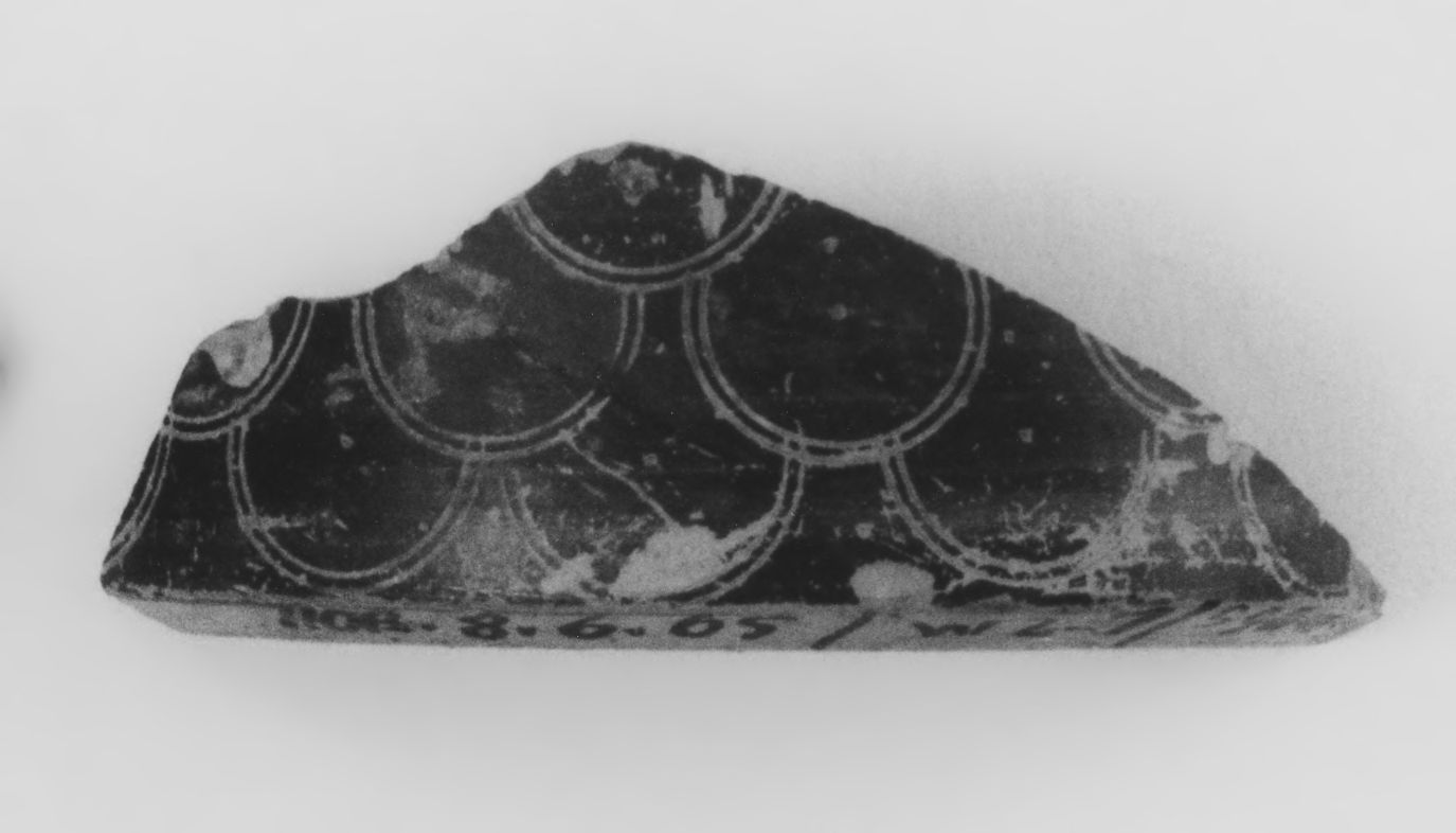 Late Protocorinthian Pyxis Fragment