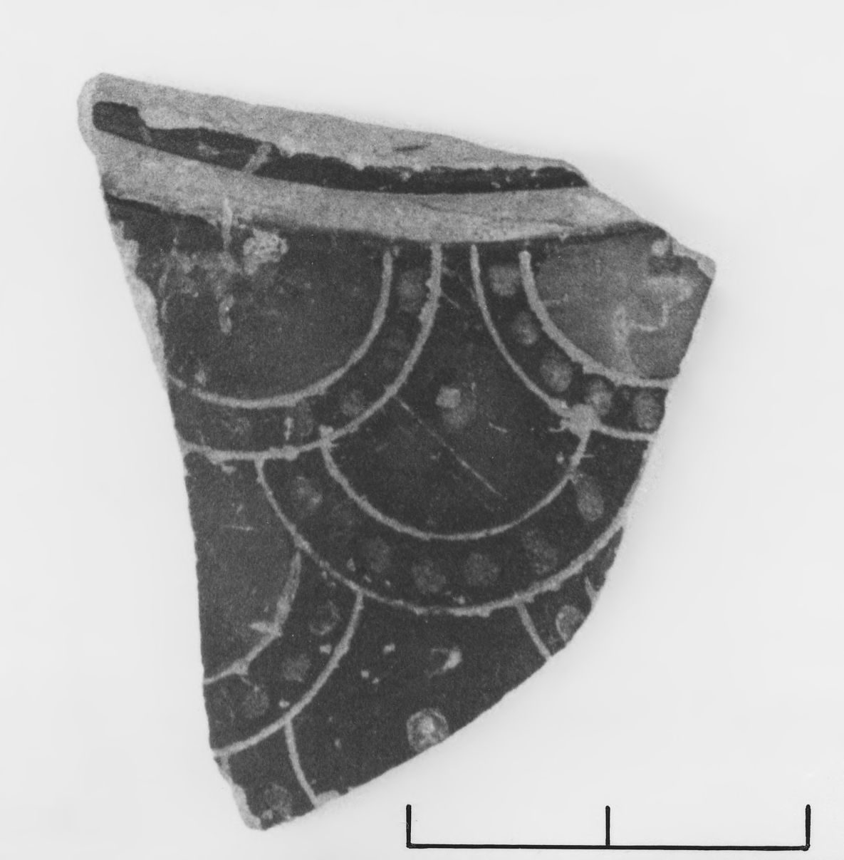 Fragment of a Corinthian Transitional Round Pyxis