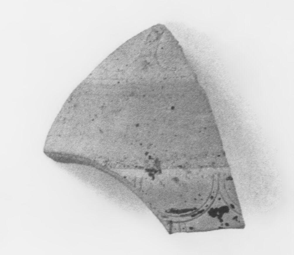 Late Corinthian Aryballos Fragment