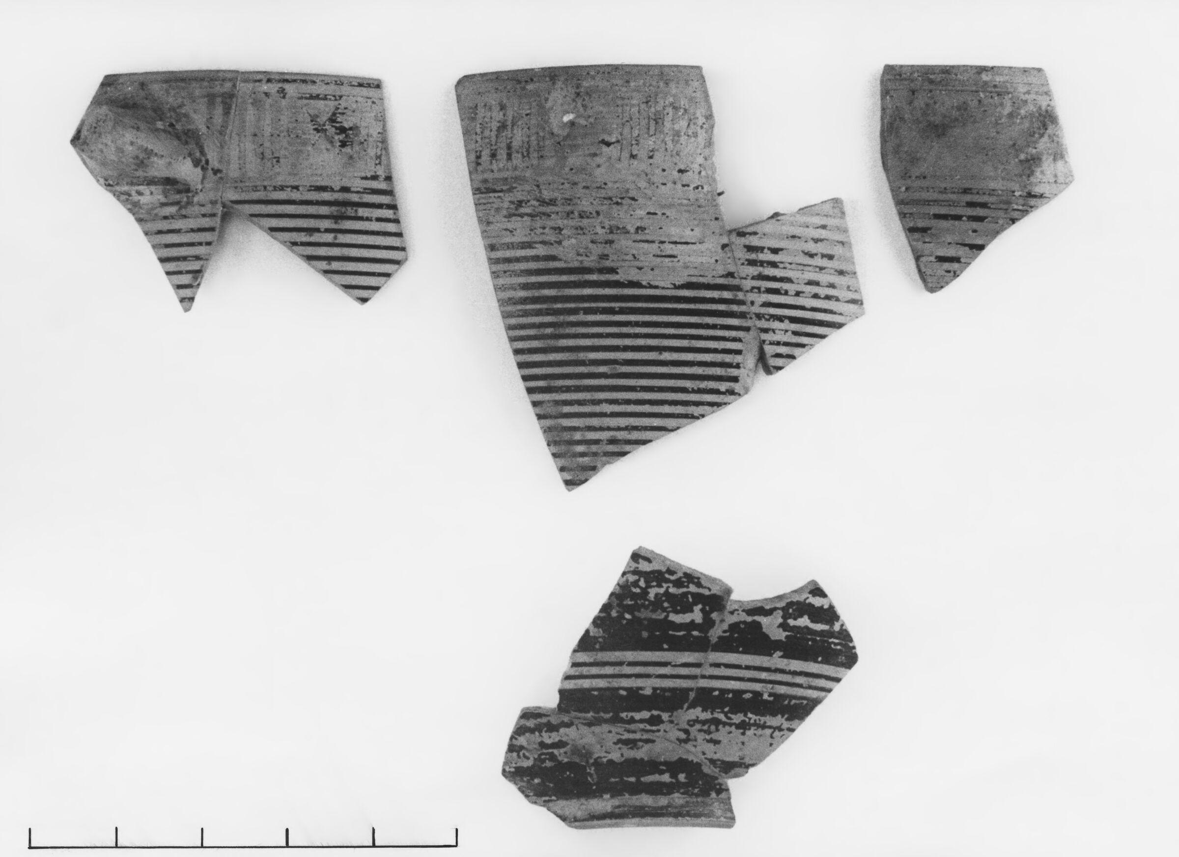 Early Protocorinthian Linear Kotyle Fragments