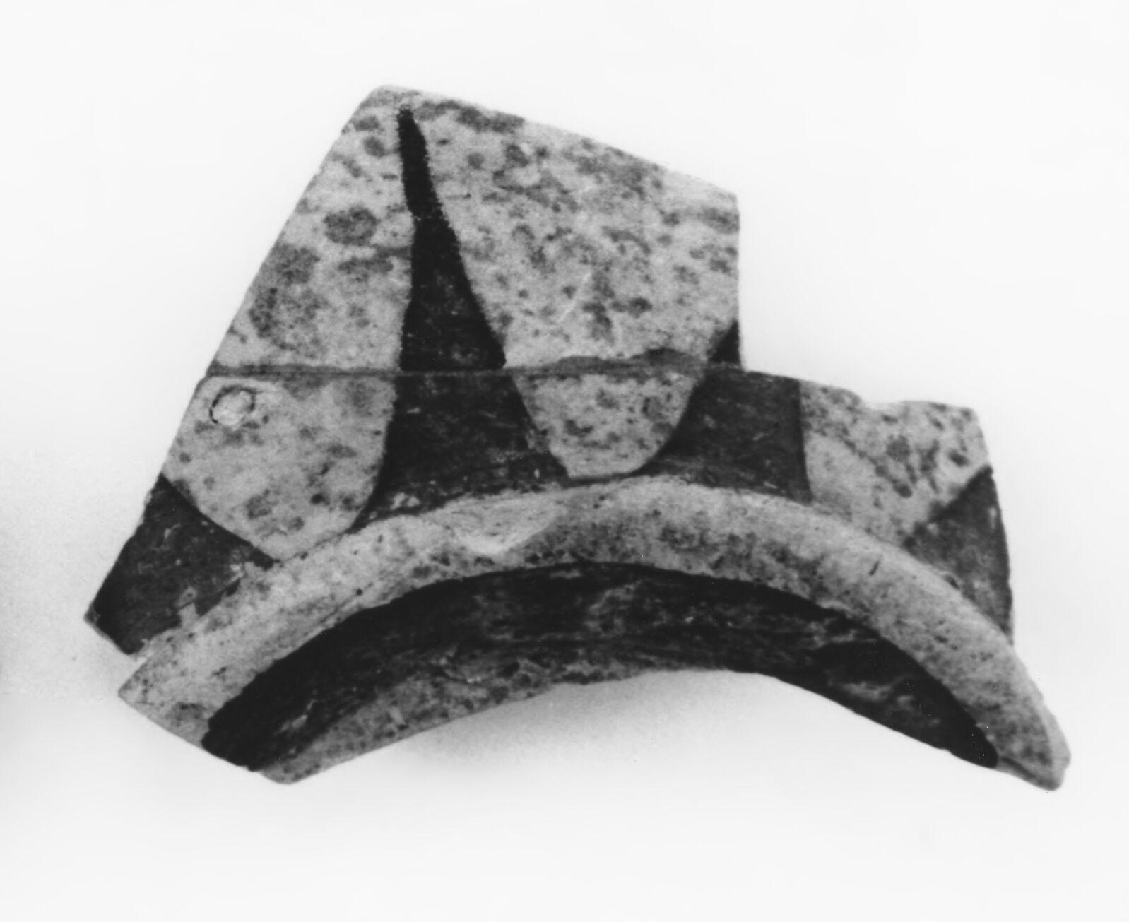 Early Corinthian Kotyle Base Fragment