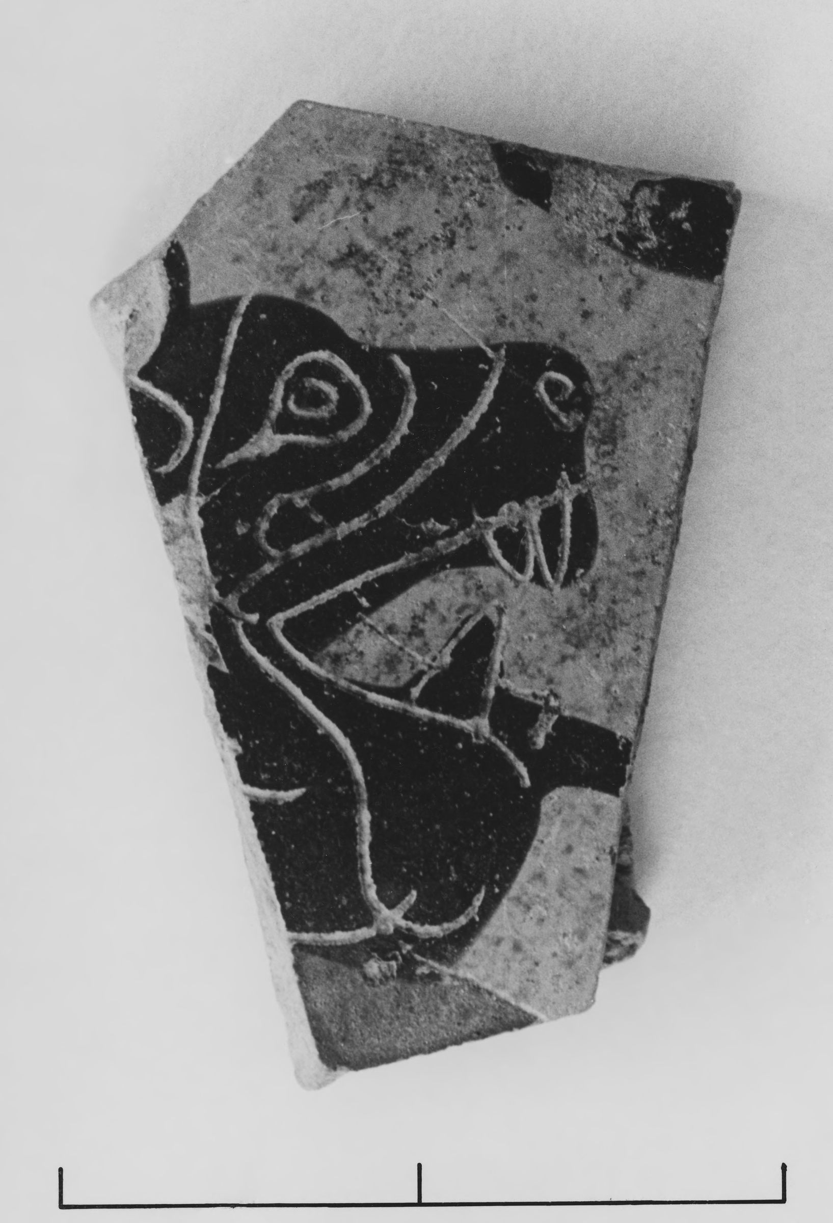Fragment of a Corinthian Transitional Vessel of Uncertain Shape