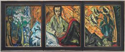 To The Convalescent Woman (Triptych)