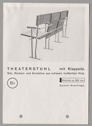 B 2 Theater Seat, From