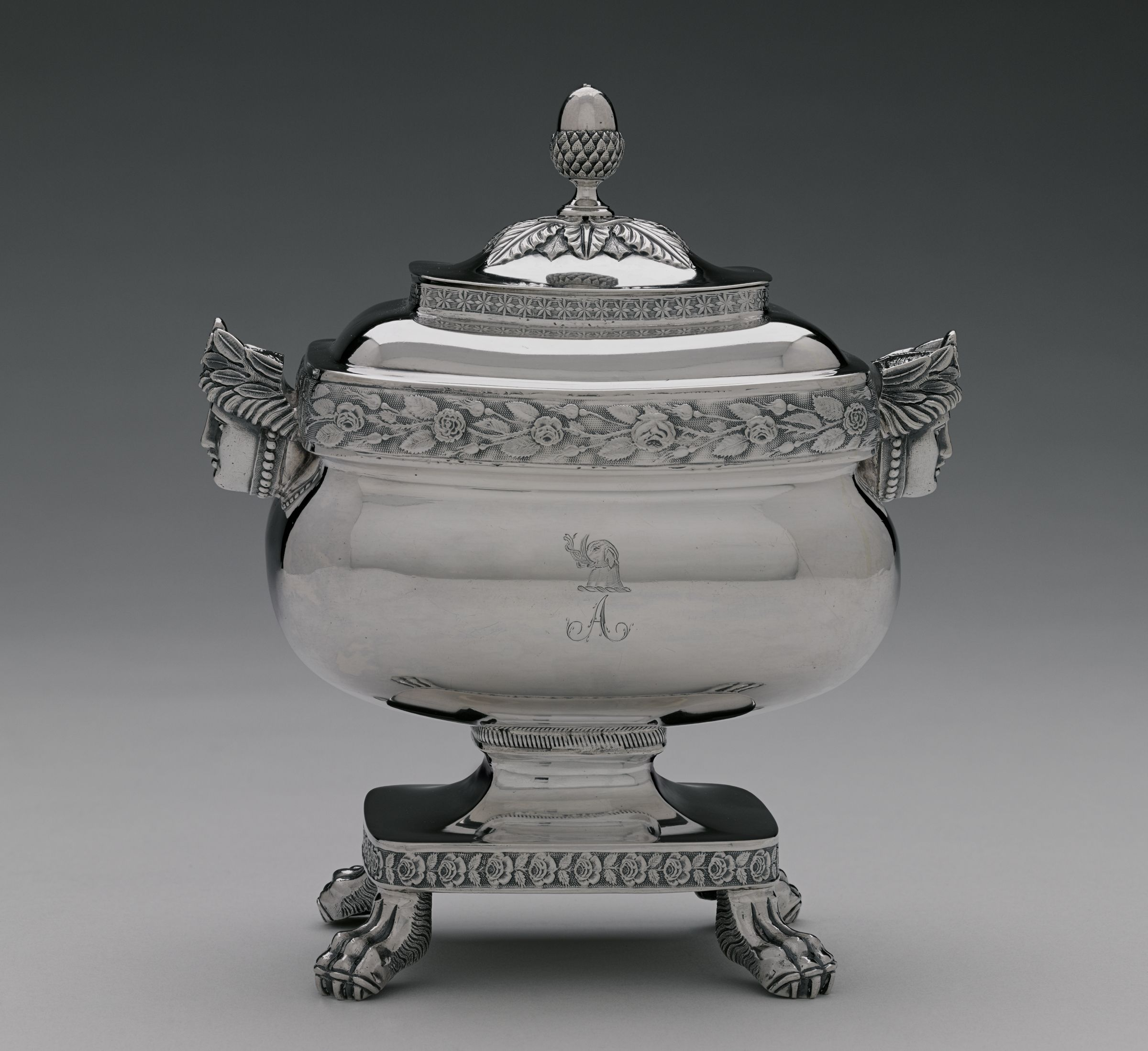 Covered Sugar Bowl For