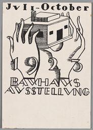Bauhaus Exhibition Postcard No. 6