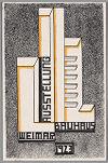 Bauhaus Exhibition Postcard No. 17