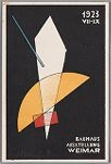 Bauhaus Exhibition Postcard No. 7