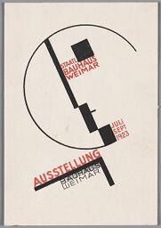 Bauhaus Exhibition Postcard No. 14