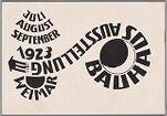 Bauhaus Exhibition Postcard No. 16