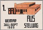 Bauhaus Exhibition Postcard No. 13