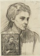 Study for the Portrait of Miss Crowe