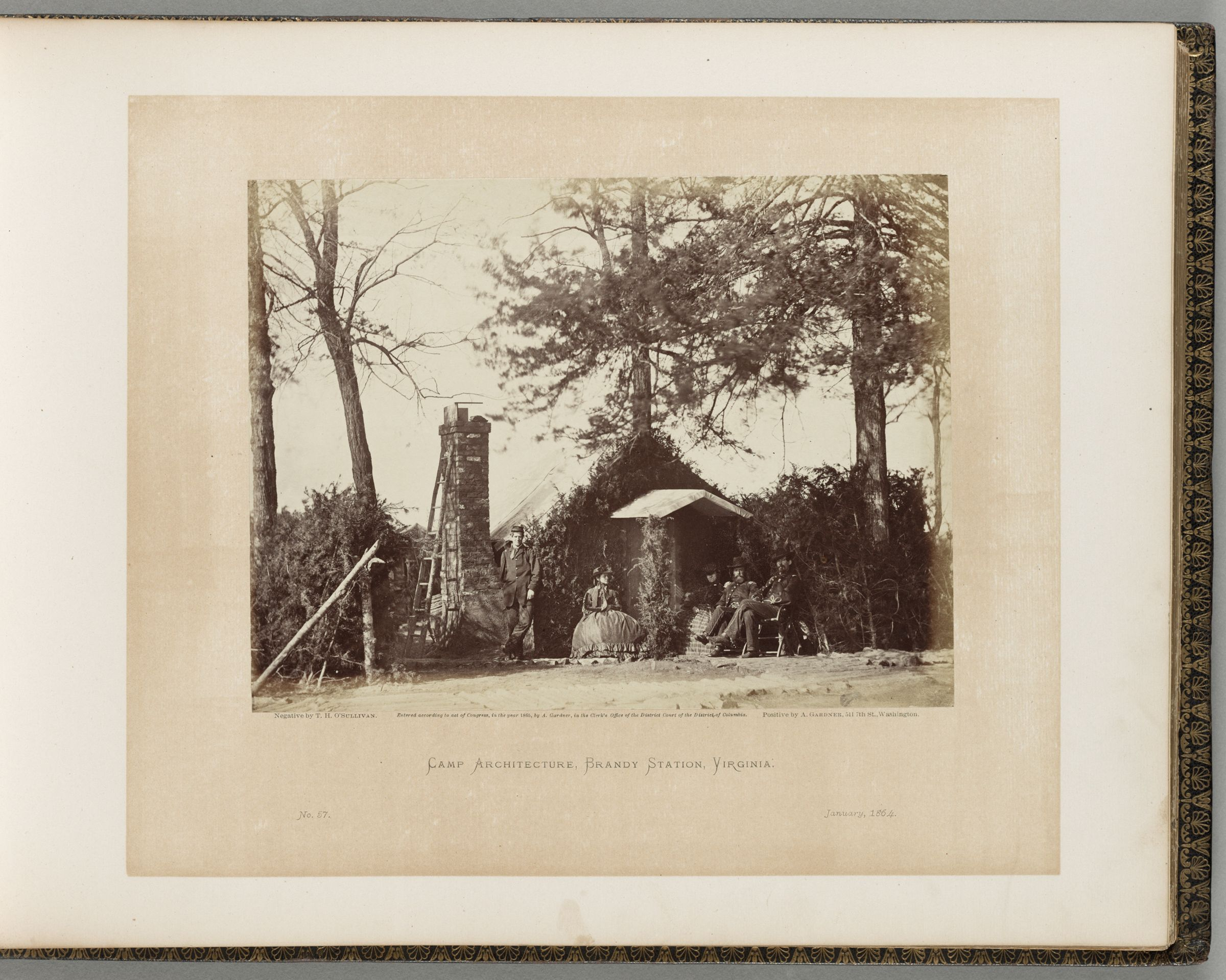Camp Architecture, Brandy Station, Virginia