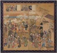 Celebration at the Entrance of the New Yoshiwara