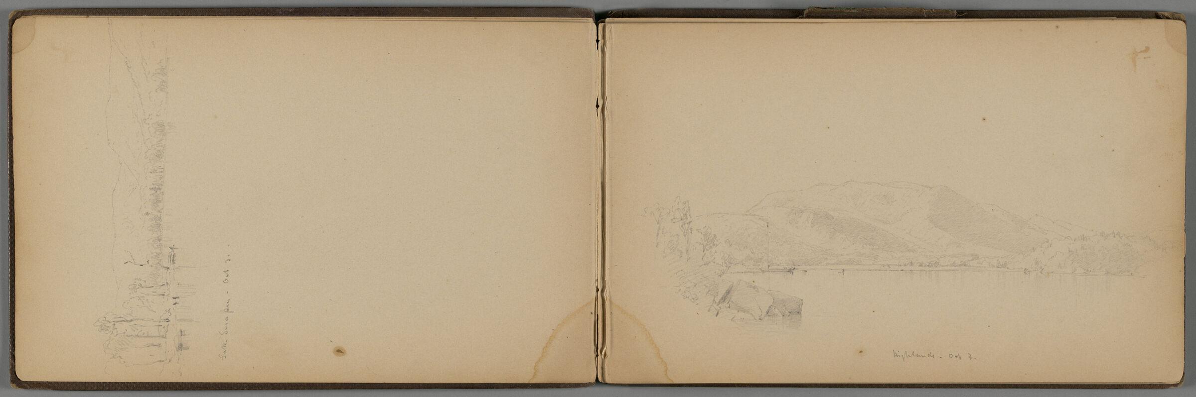 New Hampshire Highlands; Verso: Landscape