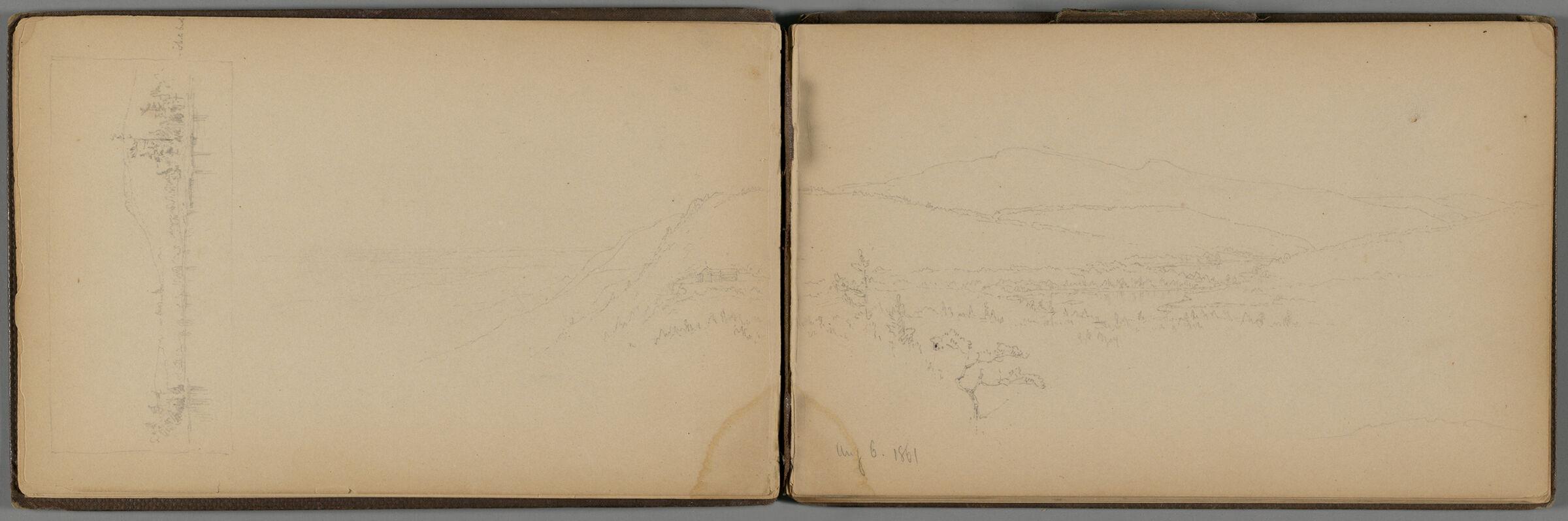 Landscape (Recto And Verso)