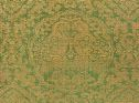 Rectangular Textile With Decoration Of Paired Parrots In Ogival Medallions, The Medallions Set Against A Ground Of Densely Scrolling Foliage And Stylized Blossoms
