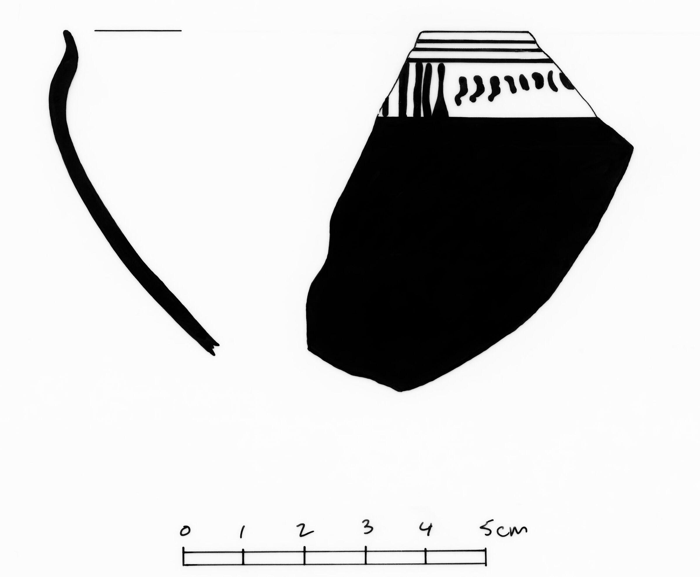 Corinthian Transitional Skyphos Fragments
