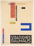 Design for a Bauhaus Exhibition Poster