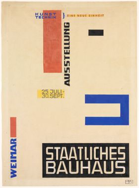 Design for a Bauhaus Exhibition Poster