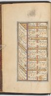 Text folio (text recto; text verso of folio 347), from a manuscript of the Kulliyat of Sa'di