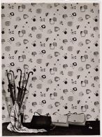 Untitled (Advertising Photograph of Wallpaper by Pickhardt & Siebert, Gummersbach)