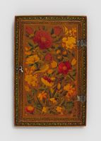 Mirror Case With Flowers, Hazelnuts, Birds, And Butterflies