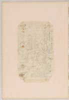 Folio 6 From An Album Of Artists' Drawings From Qajar Iran: Virgin And Child With Elderly Men And Attendants (Recto); Amorous Couple With Attendants, Baby, Rabbits, And Birds (Verso)