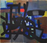 Figuration in Front of Blue