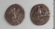 Denarius of Octavian, Uncertain Mint, Italy