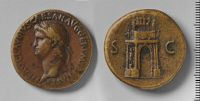 Sestertius Of Nero, Rome