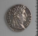 Denarius Of Augustus, Lugdunum