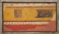 Wall Painting Fragment from the Villa at Boscotrecase