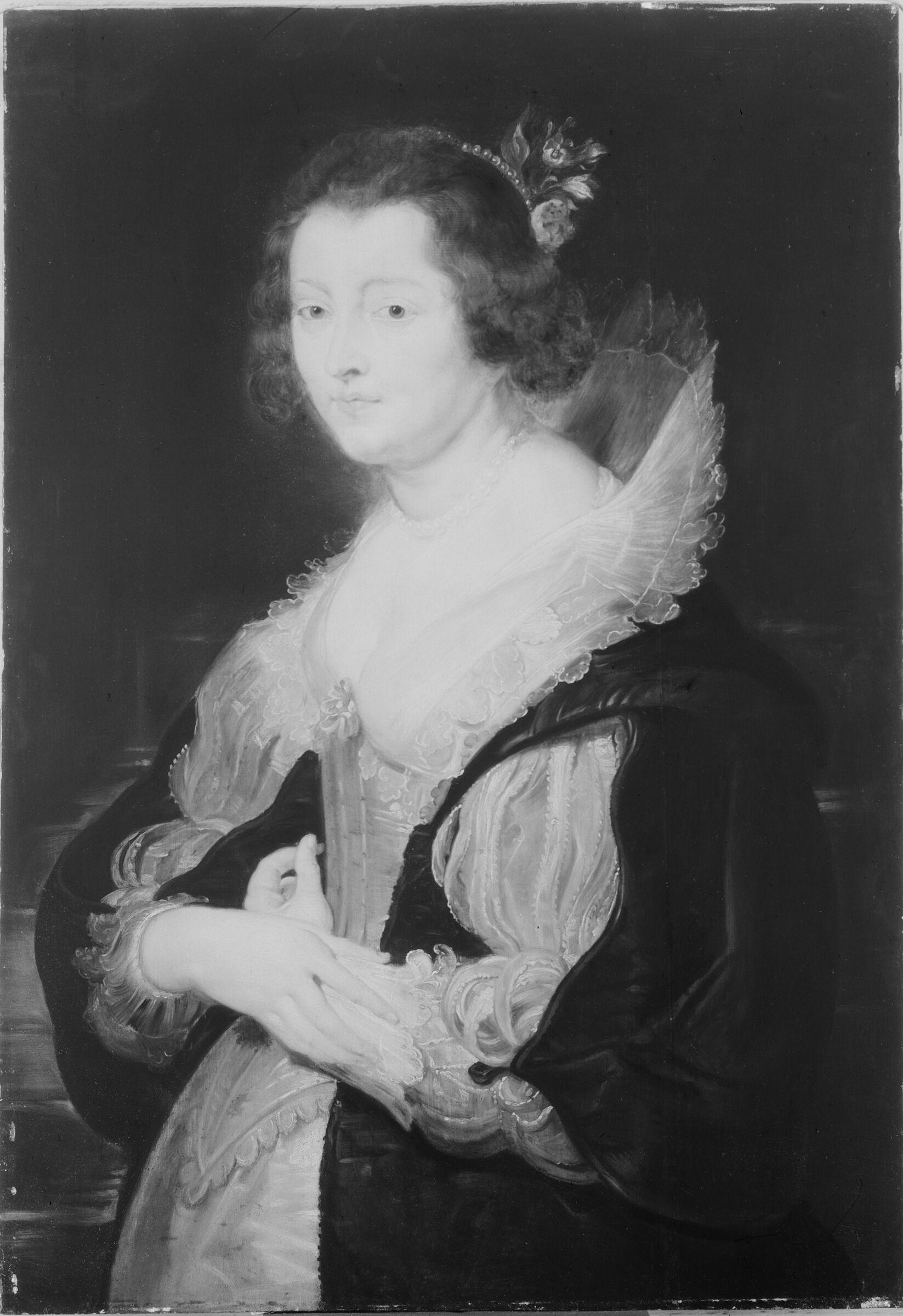 Portrait Of A Lady (Probably Helene Fourment)