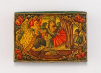 Snuff Box With Lovers Discovered