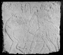 Tomb Relief: Man Holding A Cow By A Rope