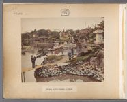 Work 1 of 50 Title: Prince Hotta's garden at Tokio Creator: Kusakabe, Kimbei Date: ca. 1883