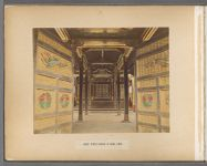 Work 3 of 50 Title: Inside temple (Haiden) at Shiba, Tokio Date: 188-?